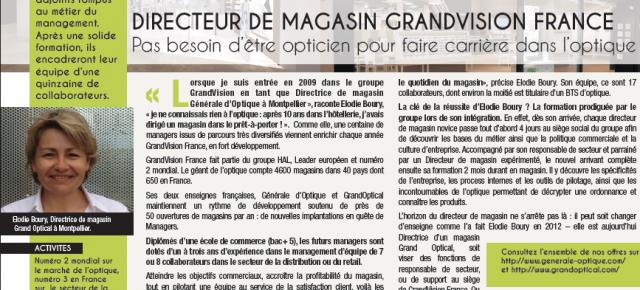 Portrait Directeur de Magasin Générale d'Optique & GrandOptical