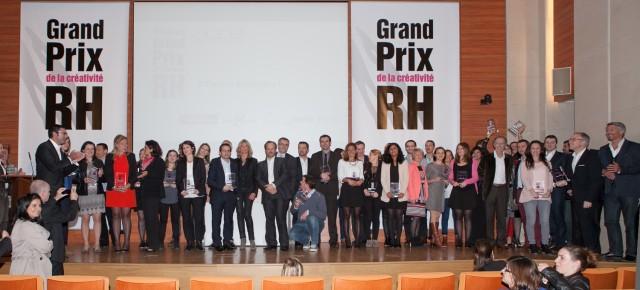 Lauréats du Grand Prix de la Créativité RH 2014