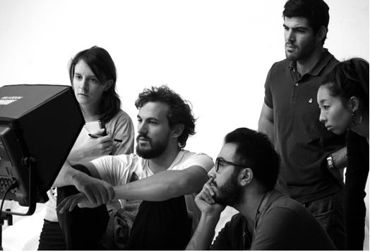 Tournage du Matin Lunaire - Clément Oberto et son équipe
