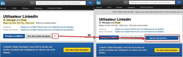 Linkedin-signaler